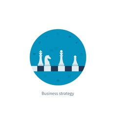 Concepts for business strategy vector
