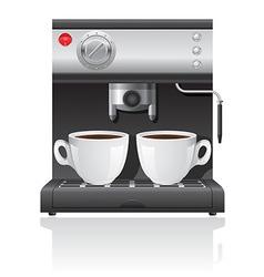Coffee maker 04 vector