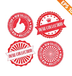 Stamp sticker new collection - - eps10 vector