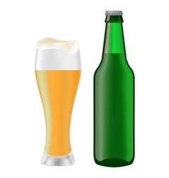 Beer bottle 05 vector