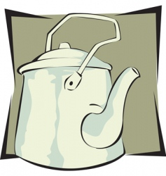 Water kettle vector
