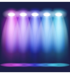 Stage light vector