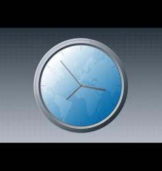 World clock vector