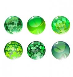 Decoration balls vector