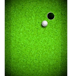 Playing golf vector