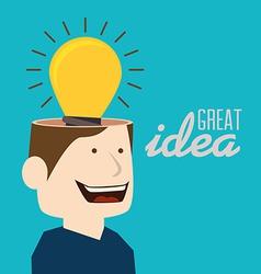 Idea design vector
