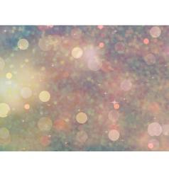 Defocused beidge lights glitter eps 10 vector