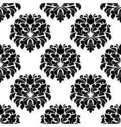 Floral seamless arabesque damask pattern vector
