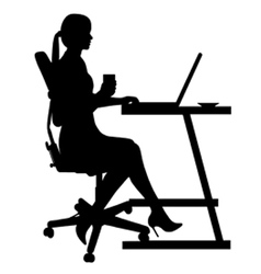 Bussines woman vector