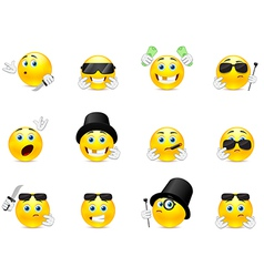 Smilies bandits vector