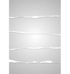 Abstract ragged edge paper vector