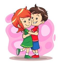Hug play 1 vector