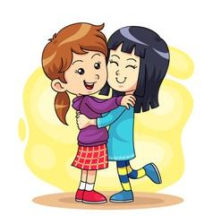 Hug play 2 vector