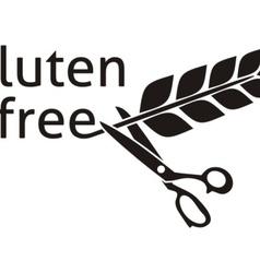 Gluten free symbol vector