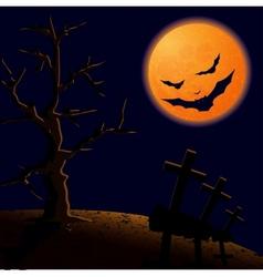 On halloween night vector