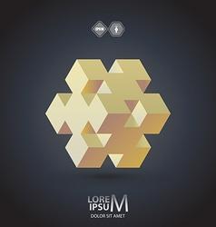 Cube logo vector