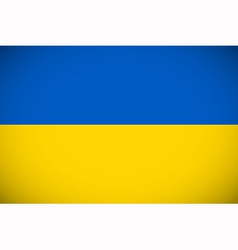 National flag of ukraine vector