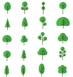 Tree collection 1 vector