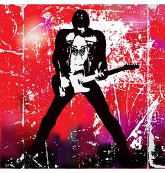 Guitarista vector