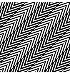 Abstract black and white herringbone seamless pa vector
