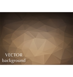 Abstract background of triangles polygon vector
