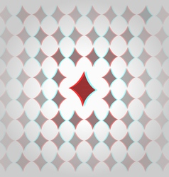 Clubs 3d geometric background vector