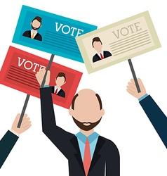 Political design vector