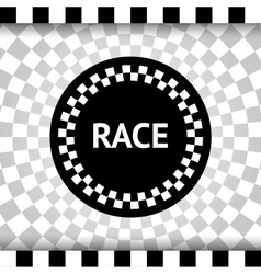 Race square background vector