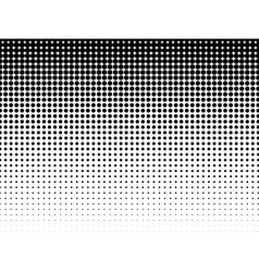 Halftone background black-white vector