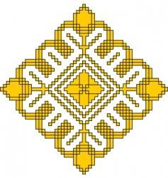 Elegant design ornament vector