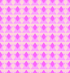 Abstract pink rhombus seamless pattern vector