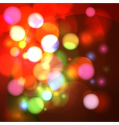 Abstract bokeh effect background vector