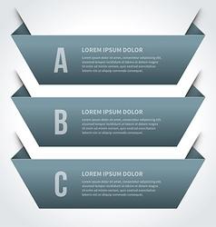 Simple geometric inforgraphic design vector