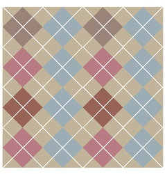 Argyle grey seamless pattern vector