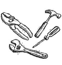 Scribble series - tools vector