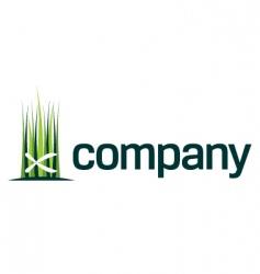 Gardening shears logo vector