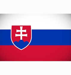 National flag of slovakia vector