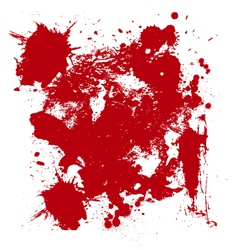 Blood drip and blood splatters 3 vector