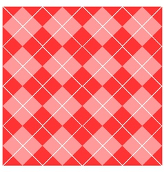 Argyle pink seamless pattern vector