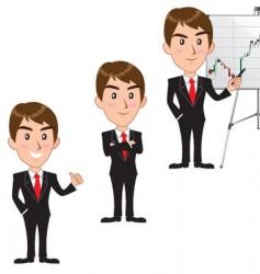 Executive cartoon vector