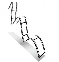 3d filmstrip vector