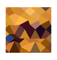 Deep lemon yellow abstract low polygon background vector