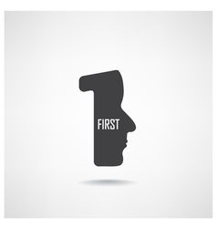 First sign vector