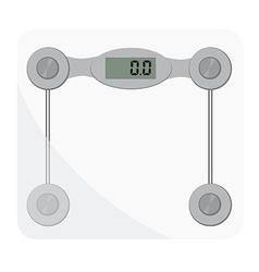 Bathroom scales vector
