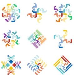 Abstract design graphic logotype idea vector