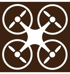 Nanocopter icon from business bicolor set vector
