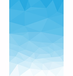 Blue sky portrait vector