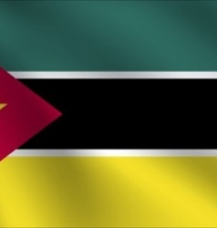 Mozambique flag vector