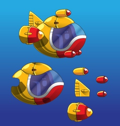 Submarine sprite vector