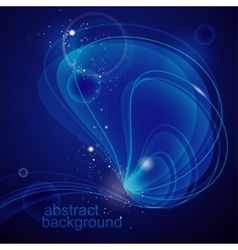 Abstract deep-water background vector